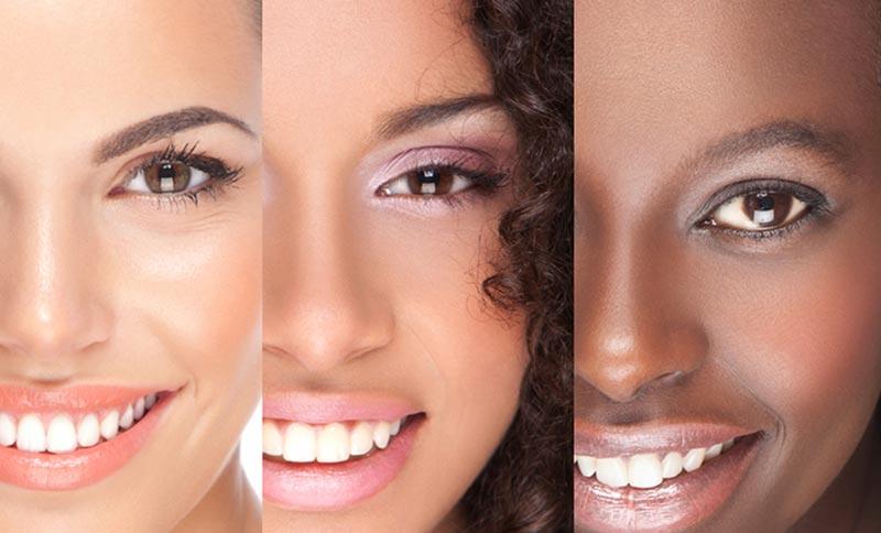 تناژ پوست صورت خود را تعیین کنید