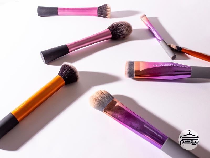 روش استفاده از انواع برسهای آرایشی