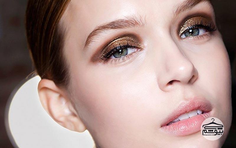 استفاده از سایه چشم به جای خط چشم