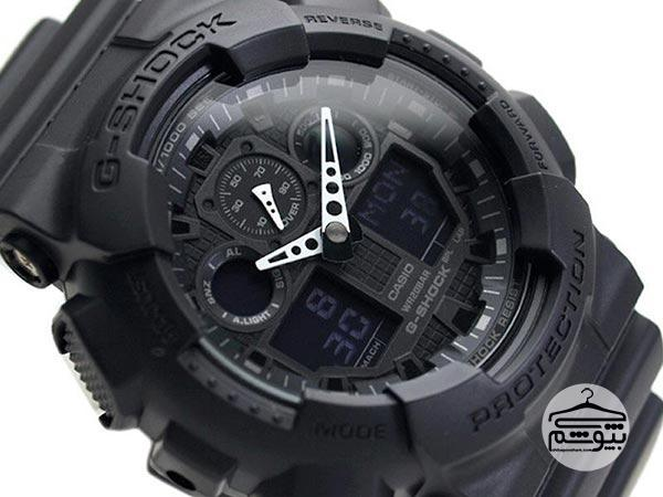 ساعت مچی عقربه ای مردانه کاسیو جی-شاک GA-100-1A1DR