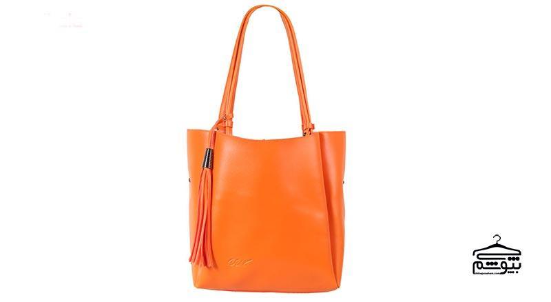 کیف دستی با رنگهای نئونی