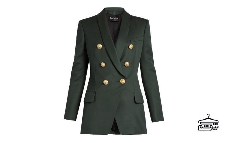 ست کردن کت سبز و دامن قرمز