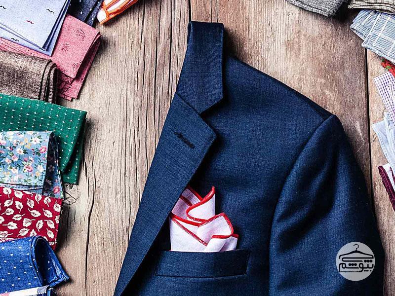 آموزش چند مدل تاکردن دستمال جیب