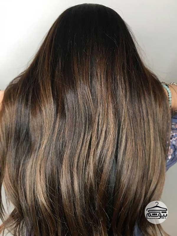 رنگ موی قهوه ای اسپرسو