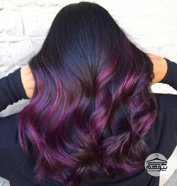 رنگ موی آلویی