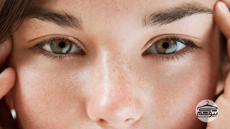 تشخیص ته رنگ پوست با استفاده از کاغذ
