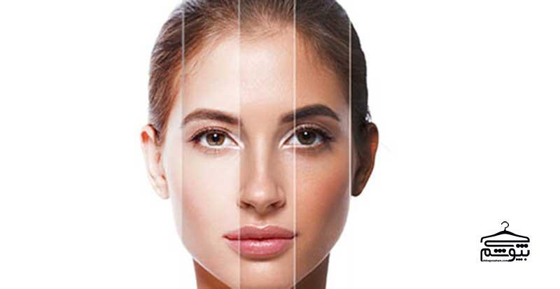 انتخاب رنگ مو برای پوست روشن و سفید