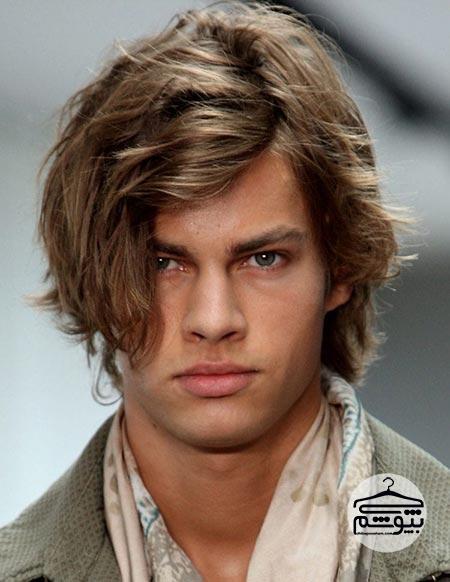 مدل موی مردانه مناسب صورت گرد