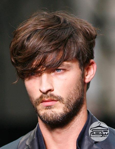 مدل موی مردانه مناسب فرم صورت مثلثی شکل