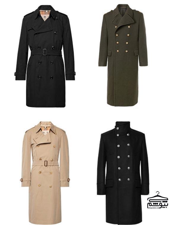 پوشیدن کتهای مدل ارتشی