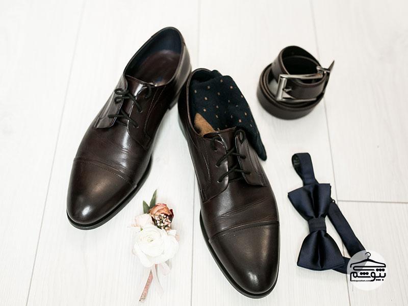 جوراب مناسب هنگام خرید کفش چرم بپوشید