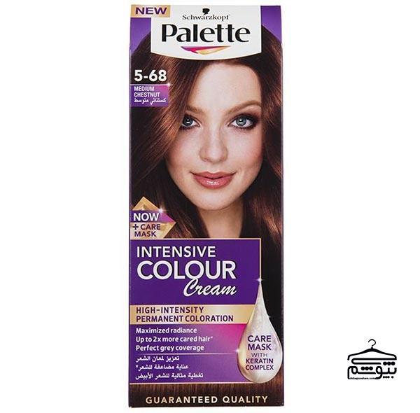 انواع رنگ مو بر اساس پایه رنگ