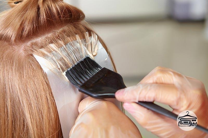 انواع رنگ مو را بیشتر بشناسید
