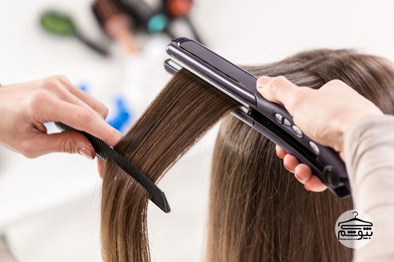 روشهای صاف کردن مو بدون استفاده از اتو مو