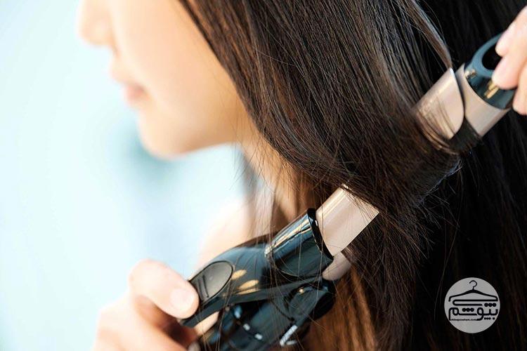 دستگاه فر کننده مو تیتانیوم