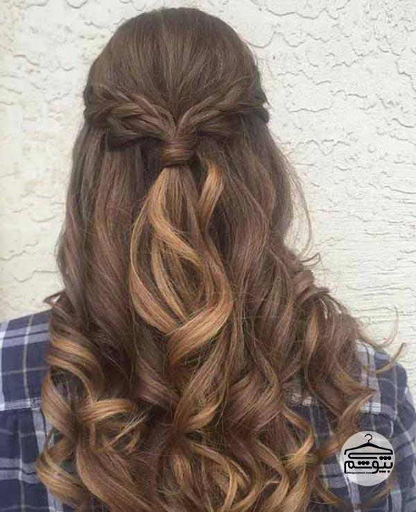 رنگ موی شیر شکلاتی