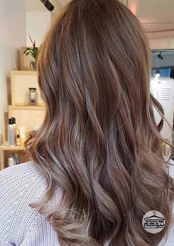رنگ موی شکلاتی ملایم