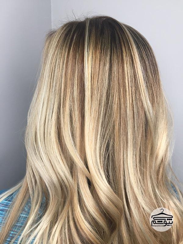 سایههایی از رنگ موی عسلی