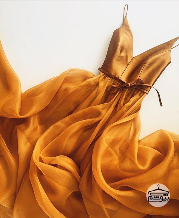 لباس مجلسی مدل یقه هفت