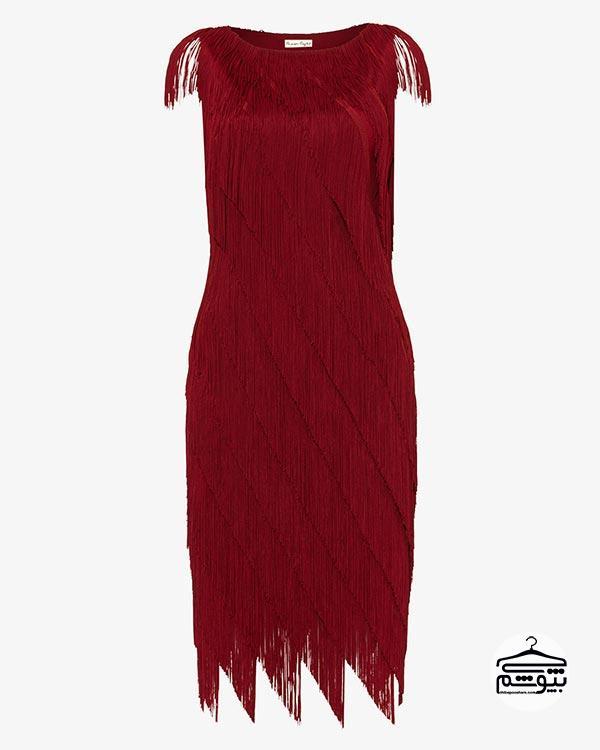 لباس مجلسی مدل فرینج