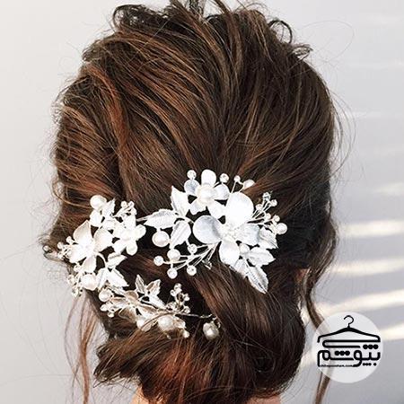 مدل موی عروس مناسب فرم صورت مربعی شکل