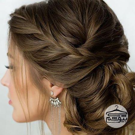 دل موی عروس مناسب فرم صورت قلبی شکل