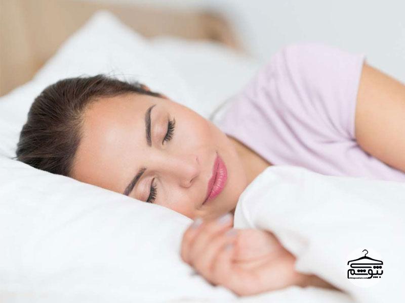 خواب کافی برای لاغر کردن صورت