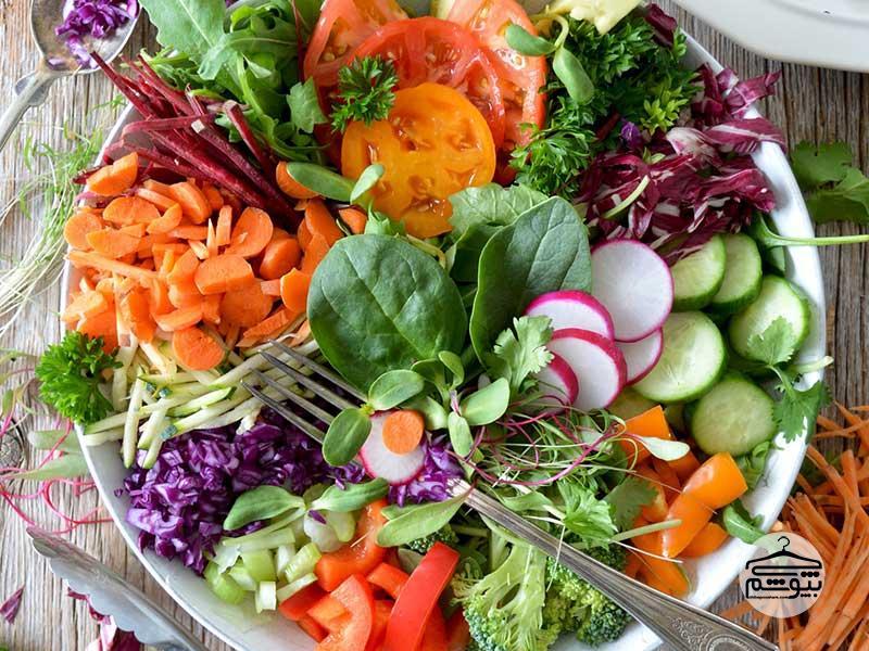 آیا رژیم غذایی گیاهخواری برای پوست صورت و بدن ما مفید است؟
