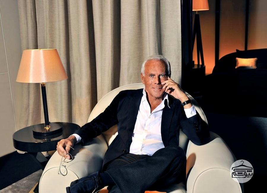 درسهای مد «جورجو آرمانی»، طراح موفق ایتالیا