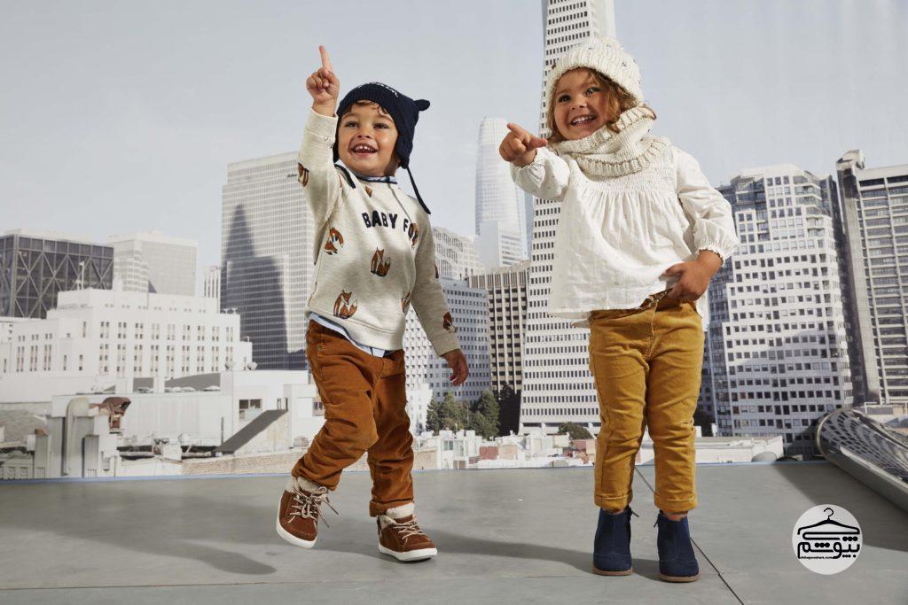 جذابترین انتخابهای پاییزی برای لباسهای بچگانه