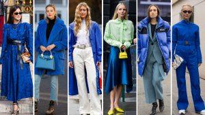با رنگ سال ۲۰۲۰ (آبی کلاسیک) چه رنگهایی را ست کنیم؟