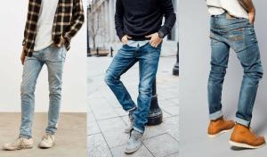 هر نوع شلوار جین مردانه برای چه اندامی مناسب است؟