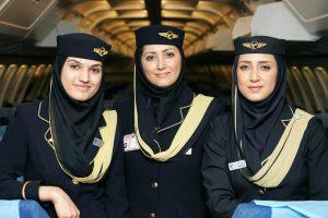 نکات جالب درباره رنگ لباس مهمانداران هواپیما و خدمه پرواز