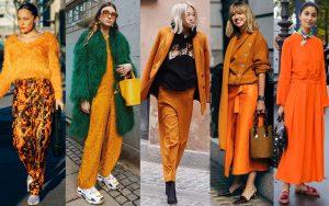 رنگ نارنجی را با چه رنگهایی ست کنیم؟