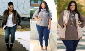خانمهای چاق در پاییز چگونه لباس بپوشند؟