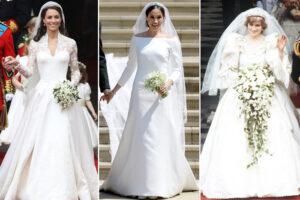 زیباترین لباس عروسهای سلطنتی در 100 سال گذشته