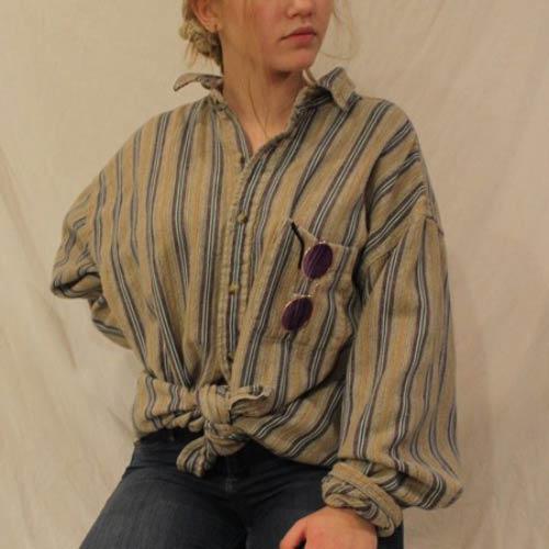 استایل با لباس مردانه