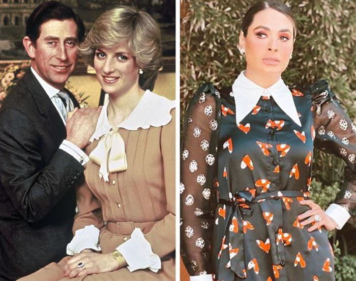 لباس یقه دار پرنسس دایانا