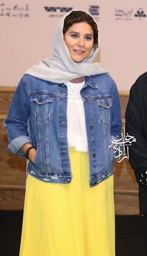 لباس جنجالی سحر دولتشاهی