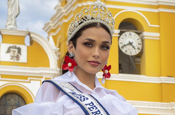 نماینده کشور پرو در مسابقات دختر شایسته 2020