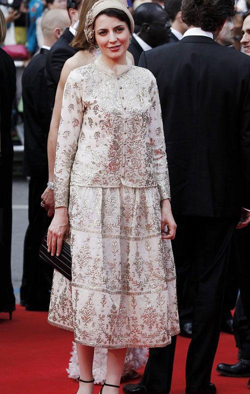 لباس جنجالی لیلا حاتمی