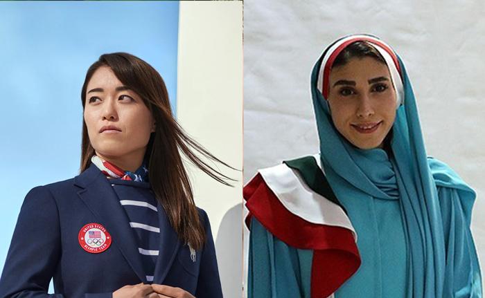 لباس المپیک کاروان ایران در مقایسه با لباس سایر کشورها